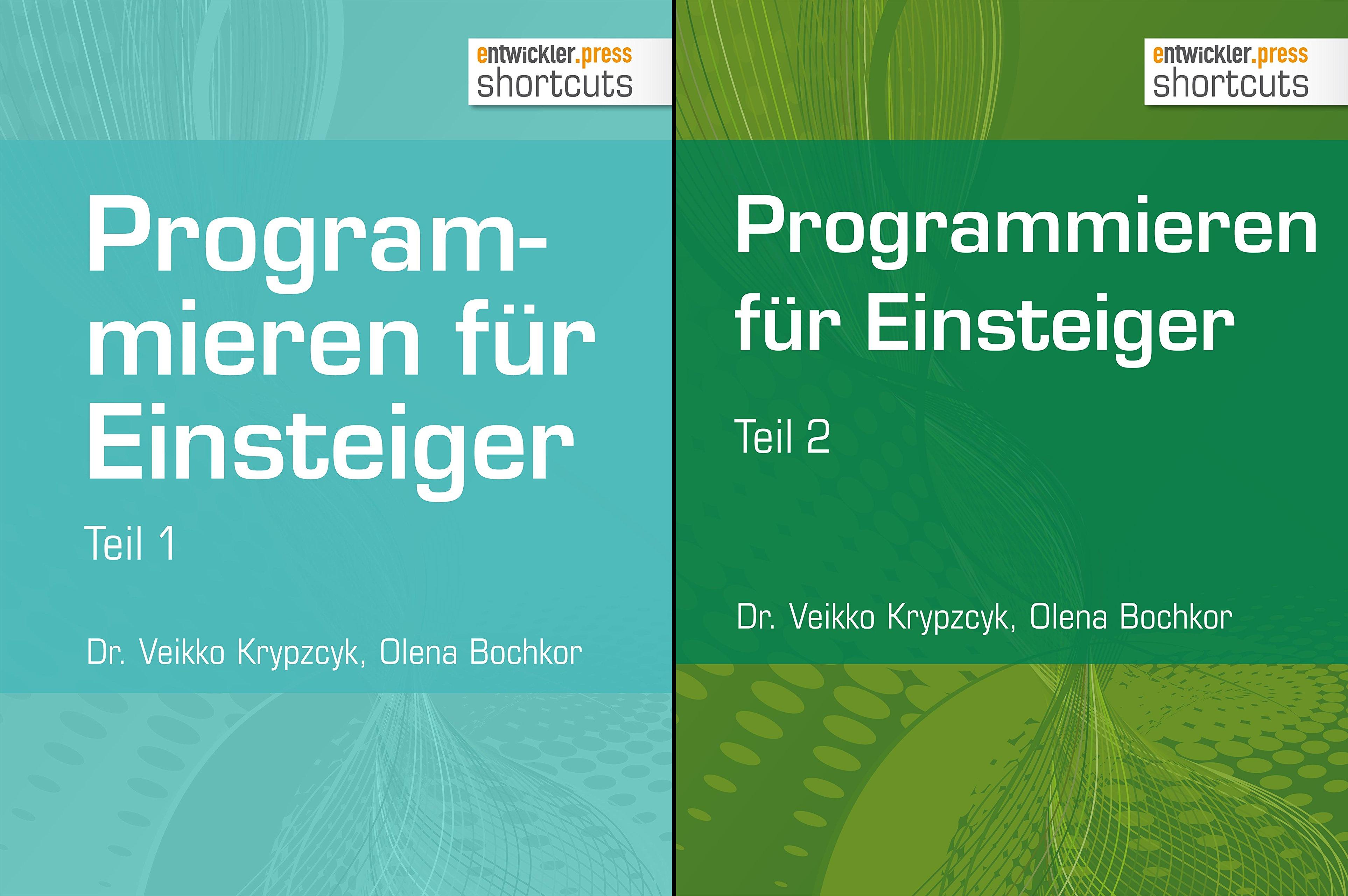 Programmieren für Einsteiger (Reihe in 2 Bänden)