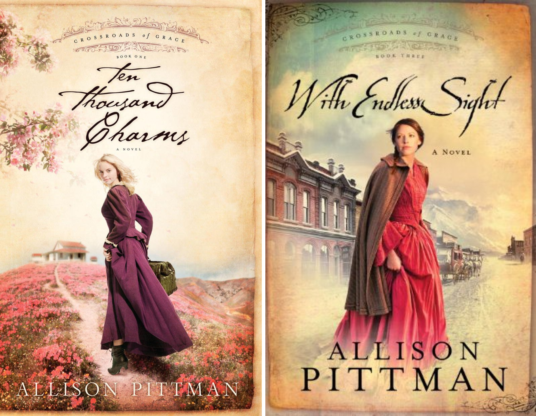 Crossroads of Grace (3 Book Series)