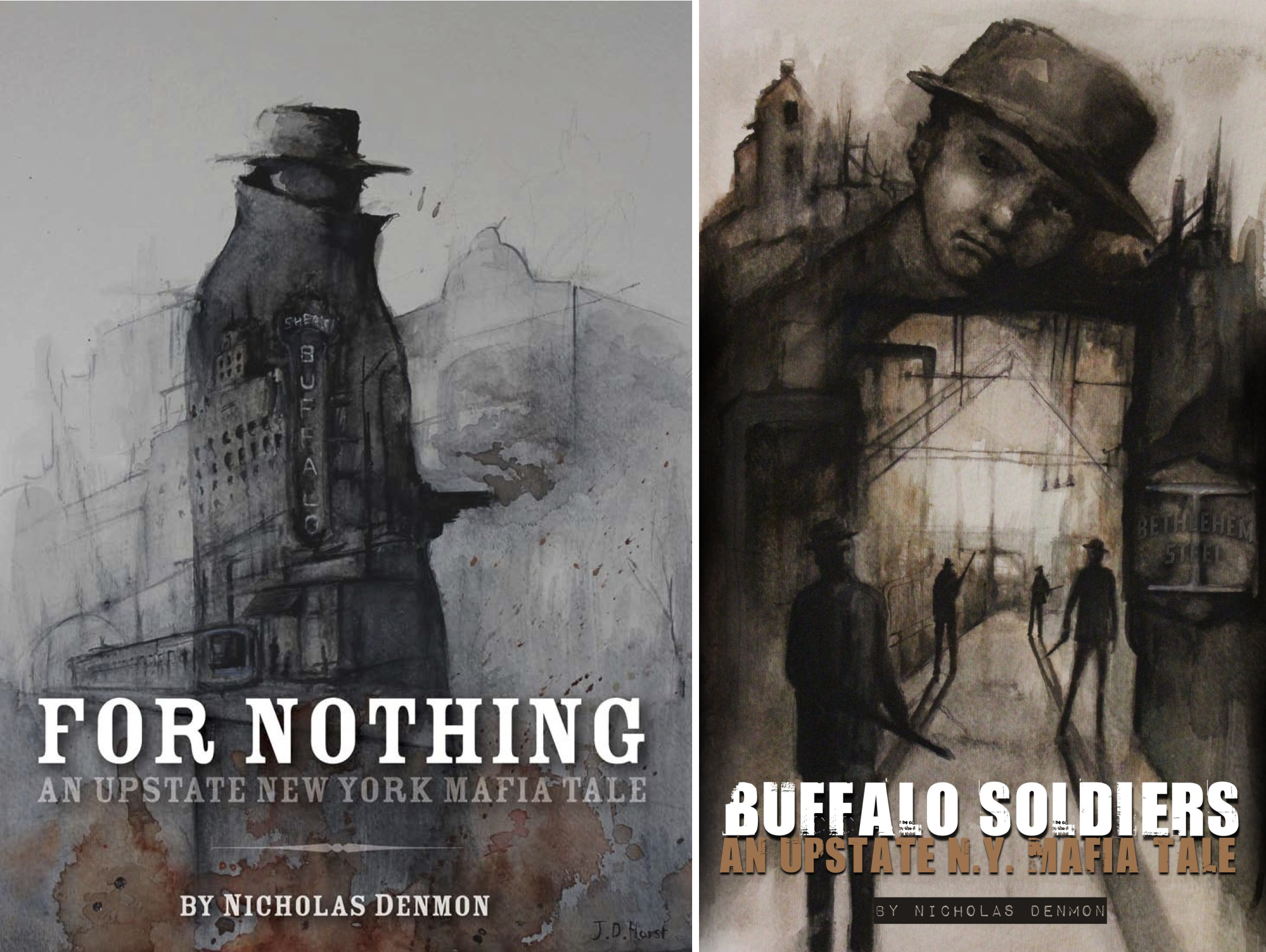An Upstate New York Mafia Tale (2 Book Series)