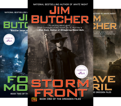 Jim Butcher Box Set (Dresden Files) (3 Book Series) by Jim Butcher