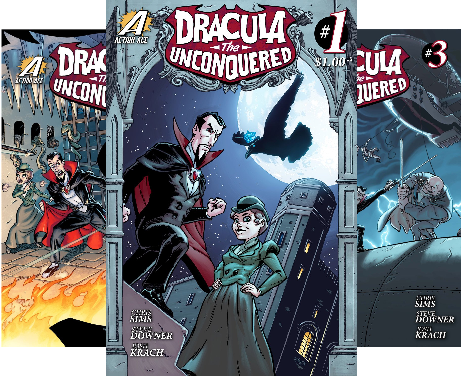 Dracula the Unconquered  (Issues) (3 Book Series)