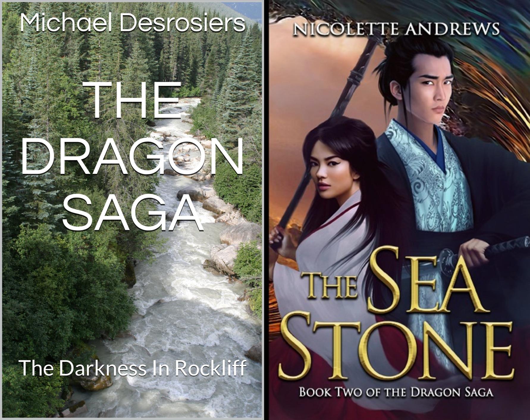 The Dragon Saga (2 Book Series)