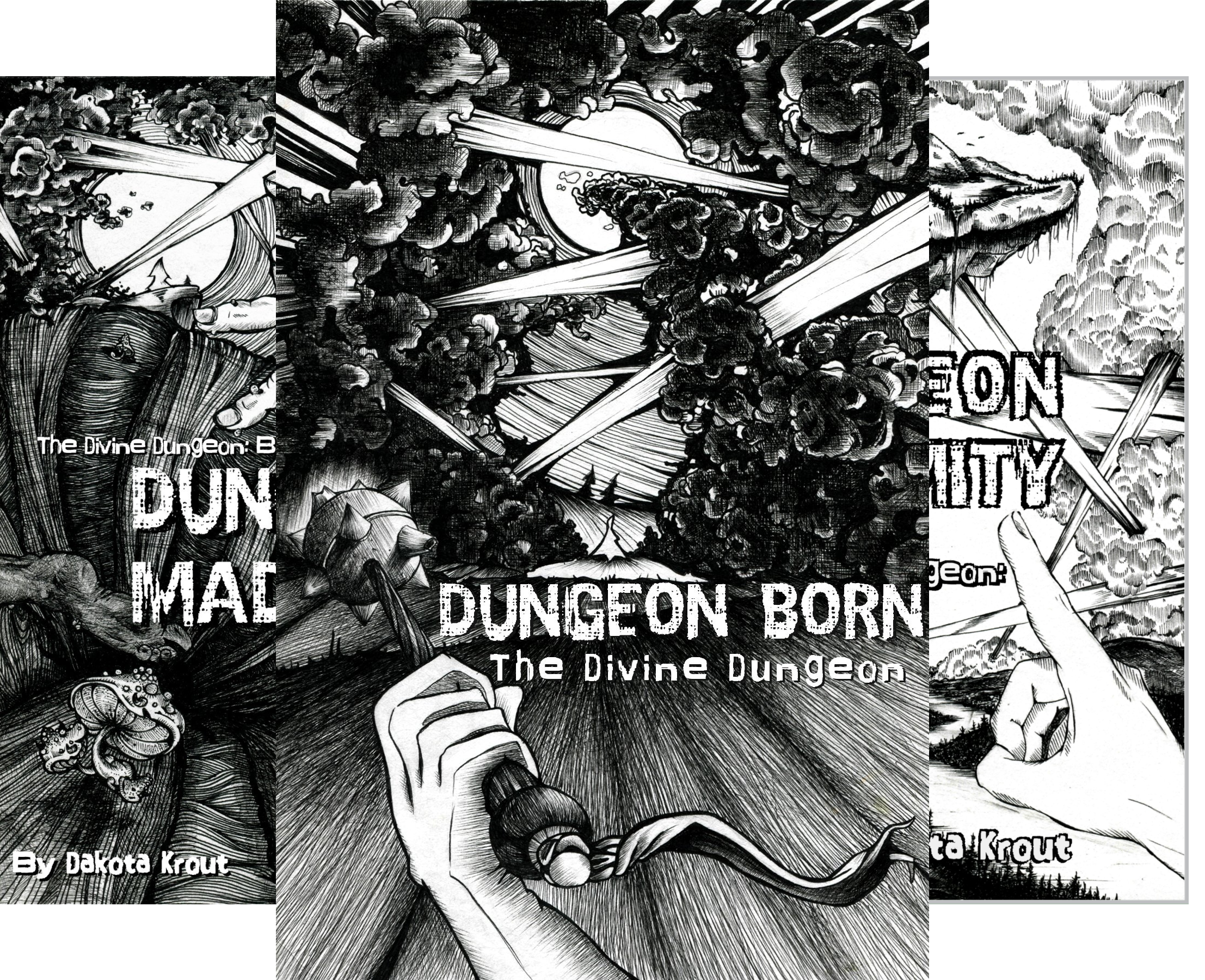 The Divine Dungeon (3 Book Series)