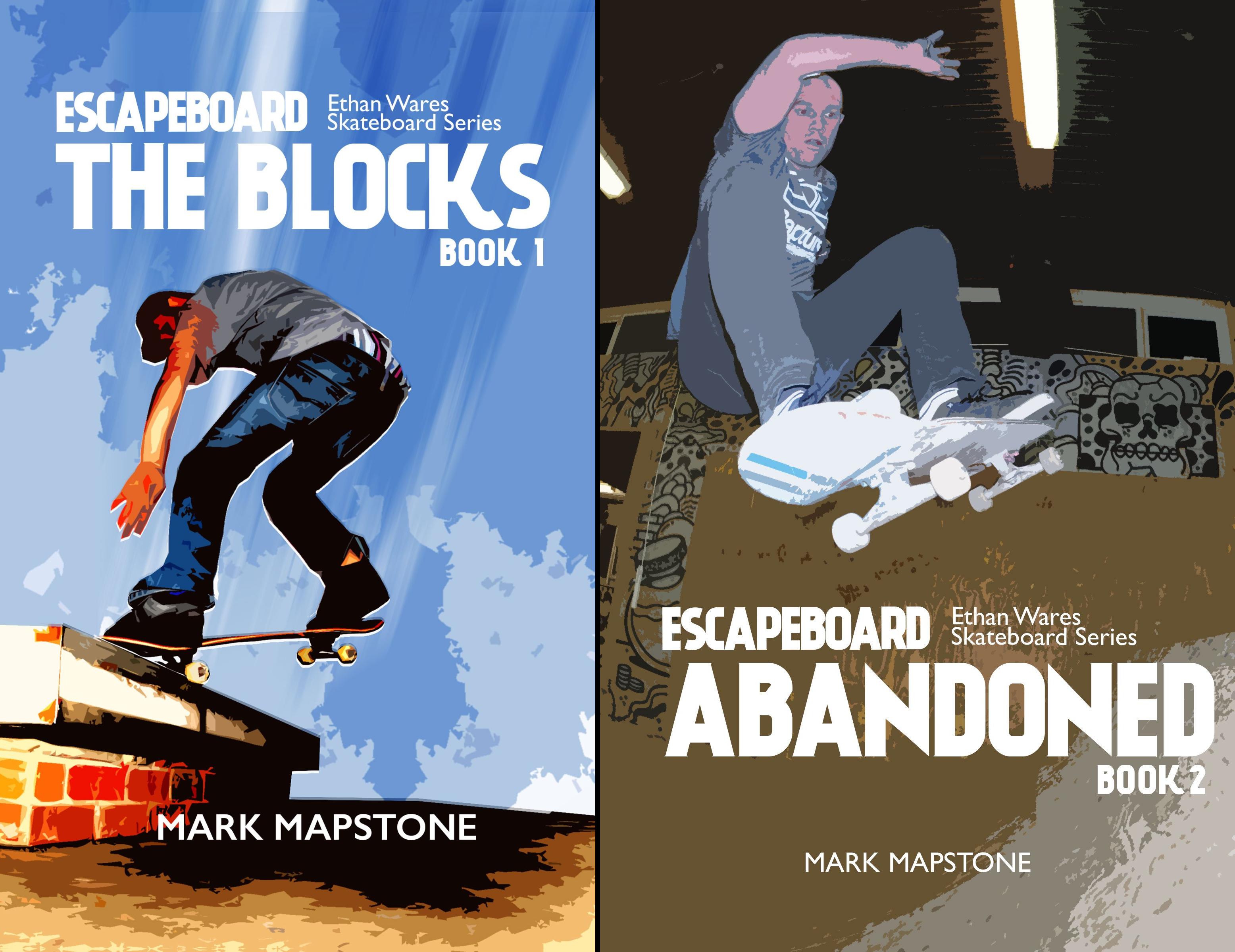 Ethan Wares Skateboard Series (2 Book Series)