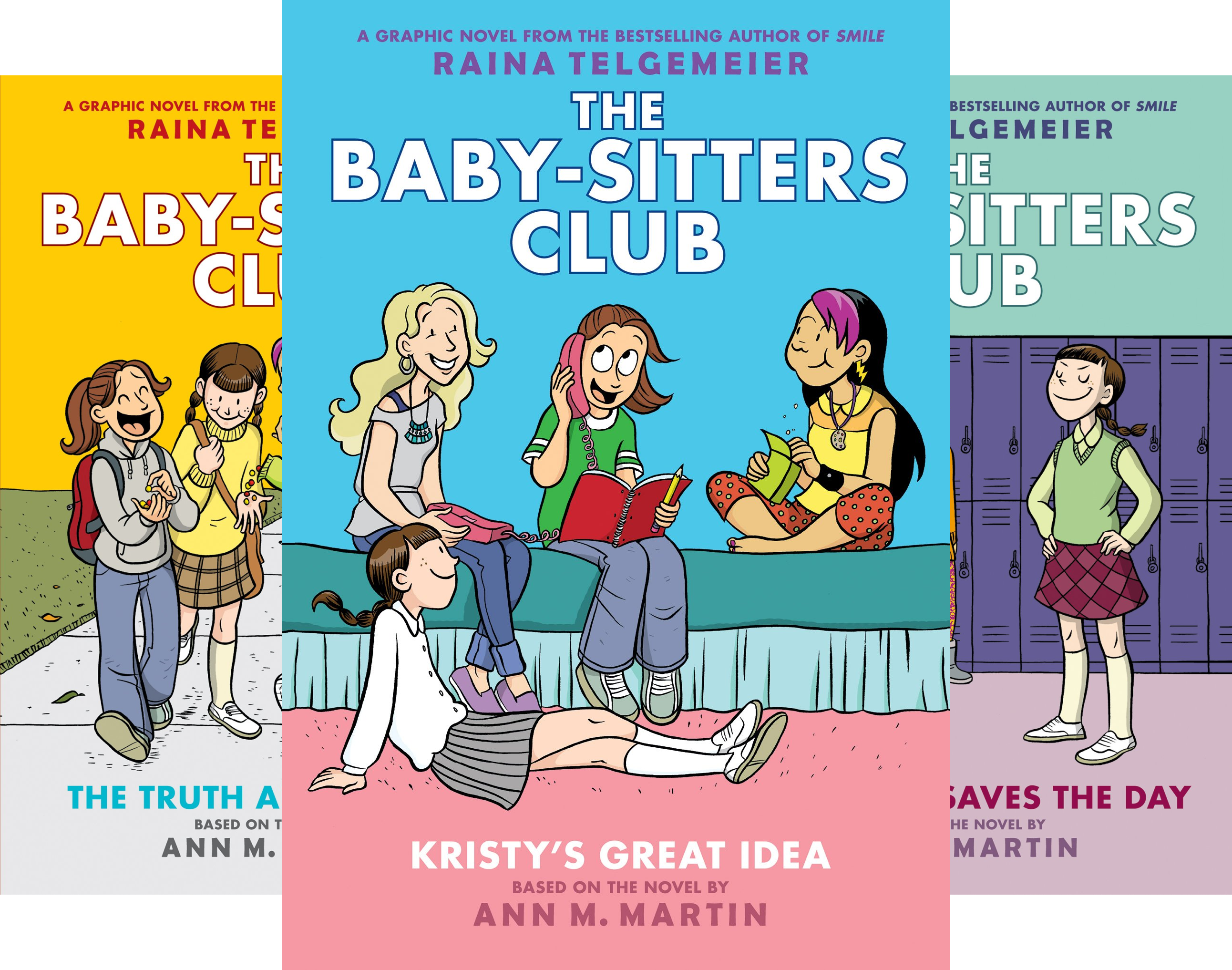 The Baby-Sitters Club Graphix (5 Book Series)