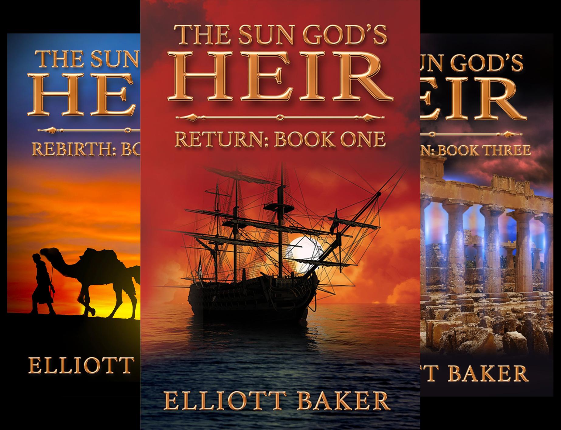 The Sun God's Heir (3 Book Series)