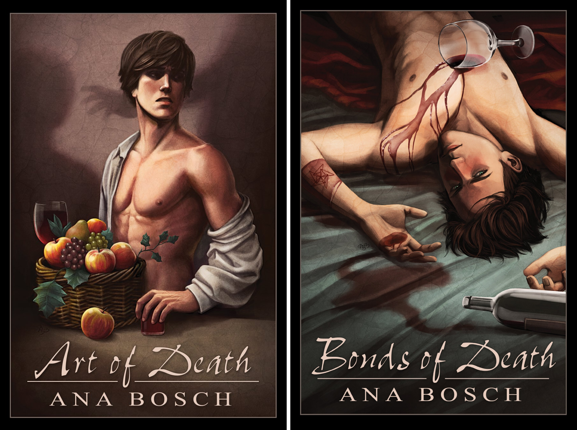 Art of Death and Bonds of Death (2 Book Series)