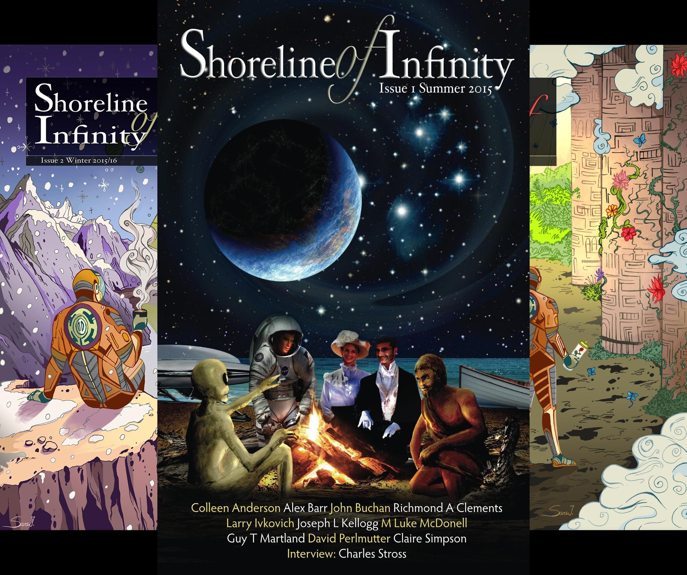 Shoreline of Infinity (10 Book Series)