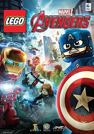 Amazon Com Lego Marvel Avengers Online Game Code Video Games