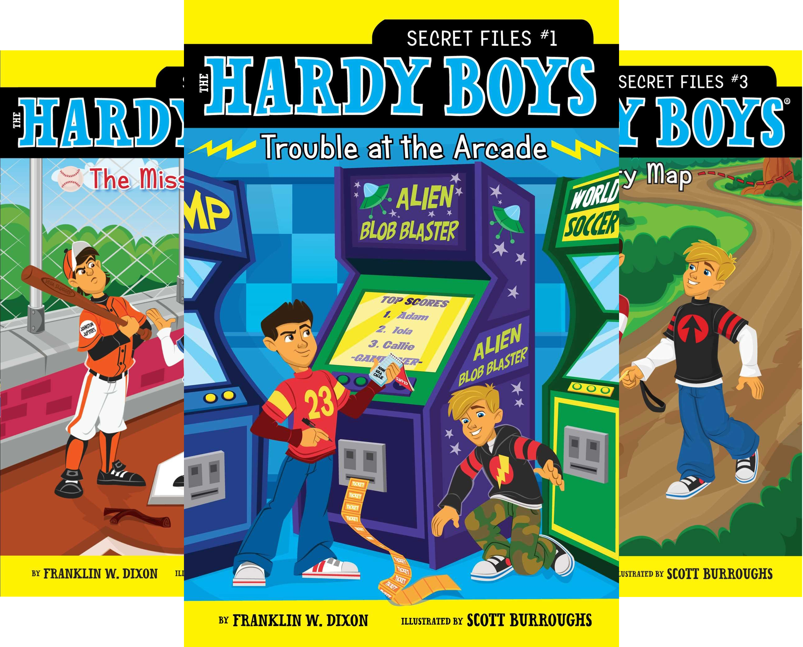 The Hardy Boys- Secret Files Series (19 Book Series)