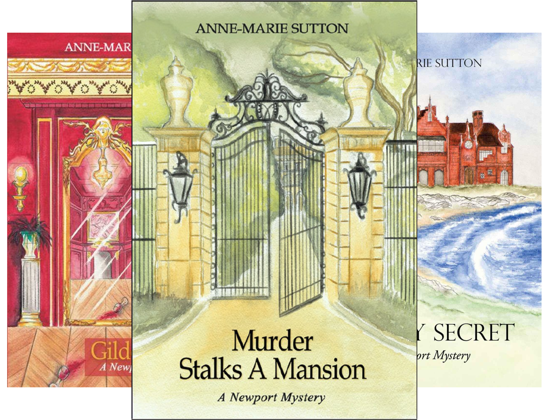The Newport Mysteries (3 Book Series)