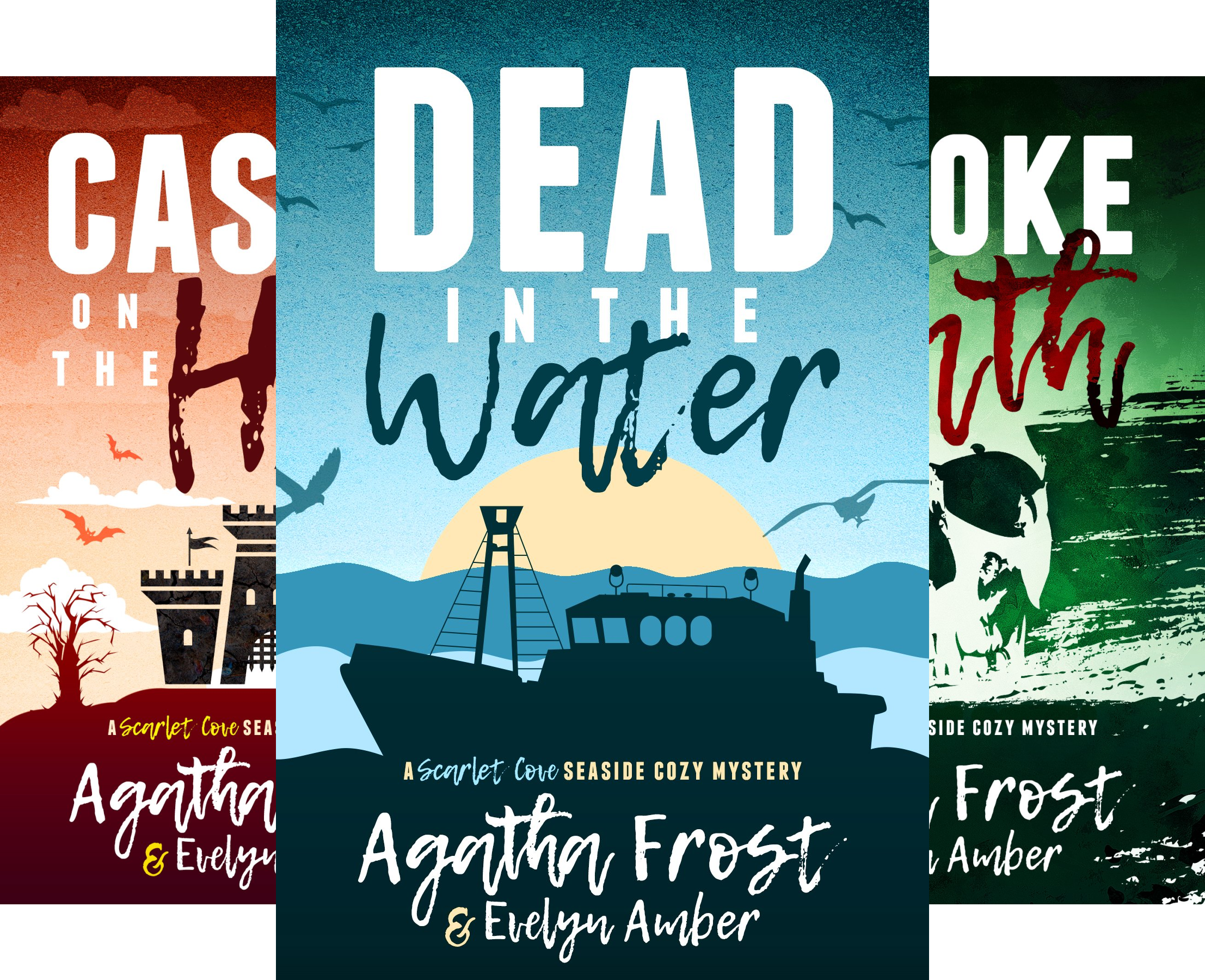 Scarlet Cove Seaside Cozy Mystery (3 Book Series)