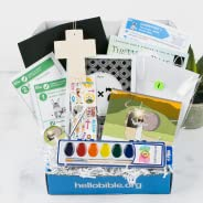 Hello Bible - Monthly Subscription Box: 1 Child