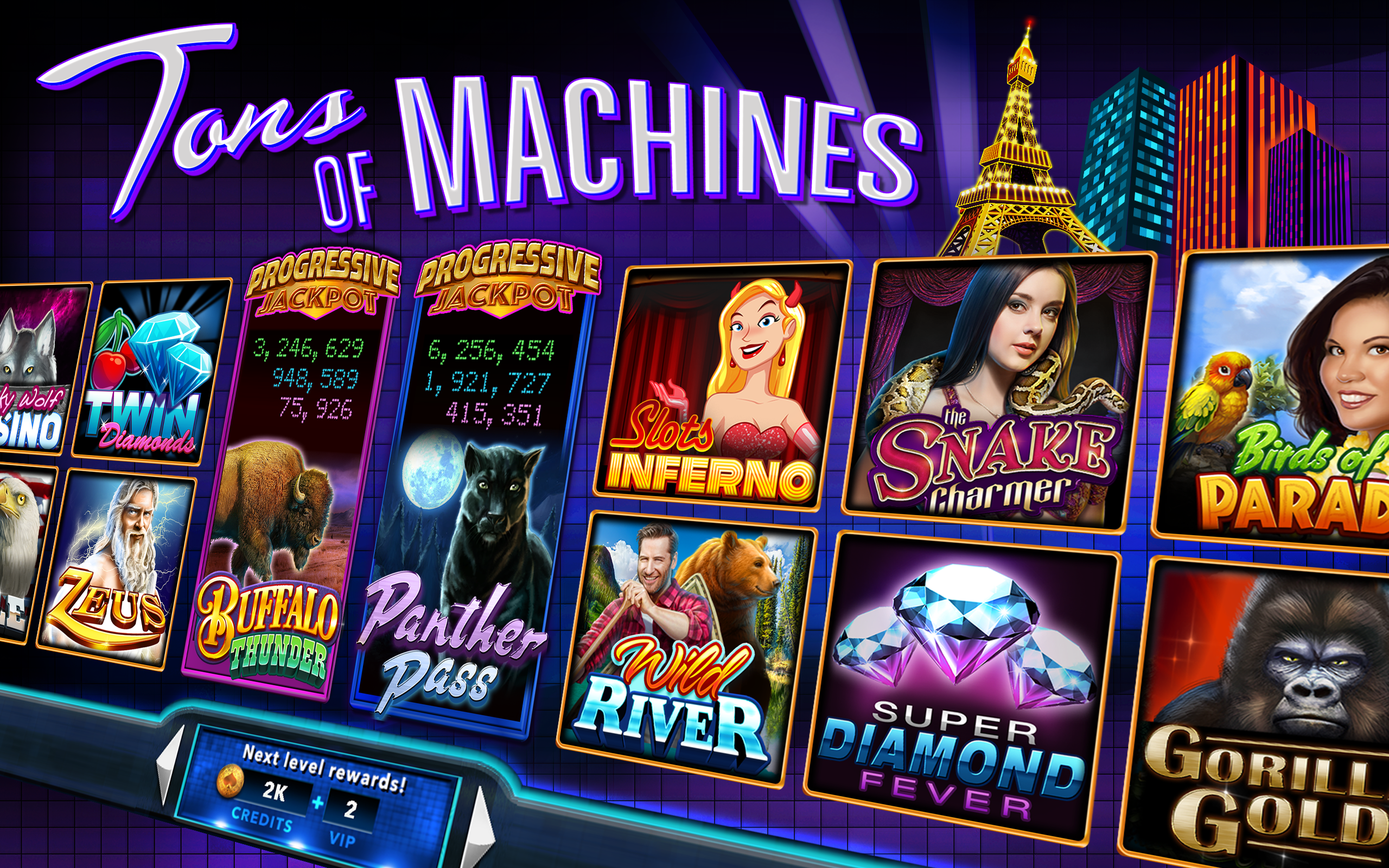 50 line slot machines