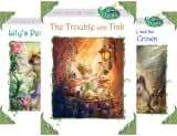 Tales From Pixie Hollow 4 copy Box Set (Disney Fairies)(Trouble with Tink, Lily's Pesky Plant, Vidia and the Fairy Crown, Beck and the Great Berry Battle) (4 Book Series)