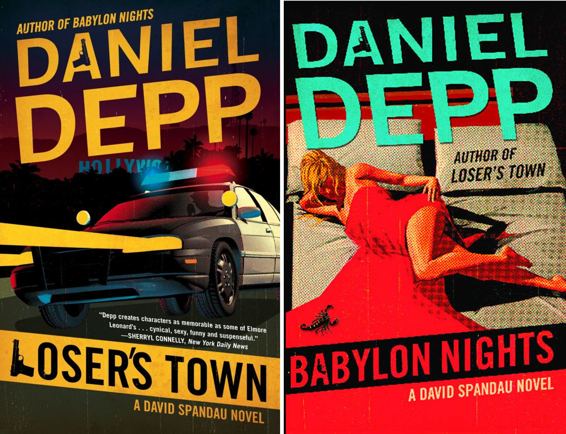 David Spandau (2 Book Series)