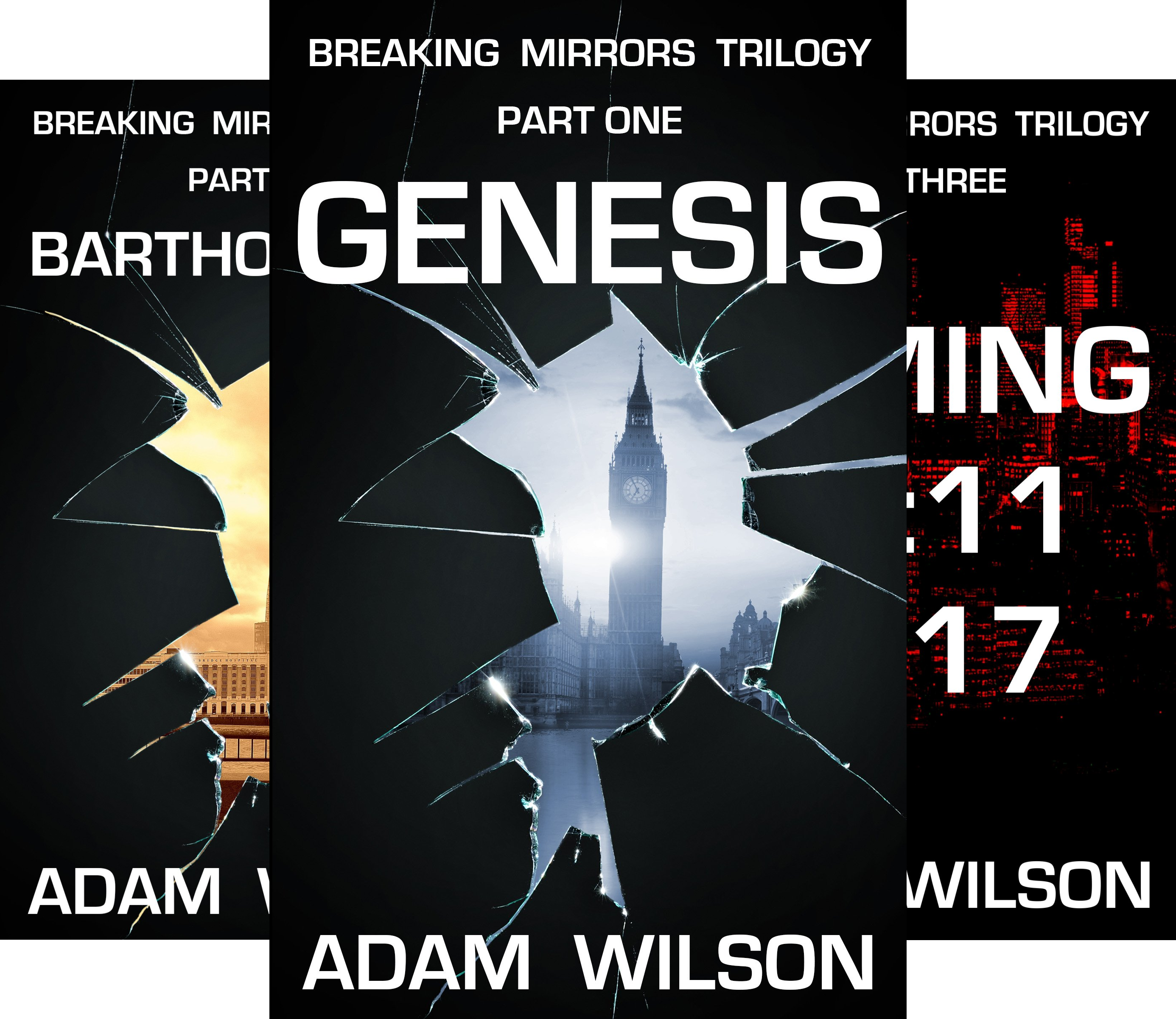 Breaking Mirrors Trilogy (3 Book Series)