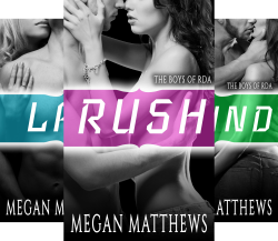 The Boys of RDA (4 Book Series) by Megan Matthews