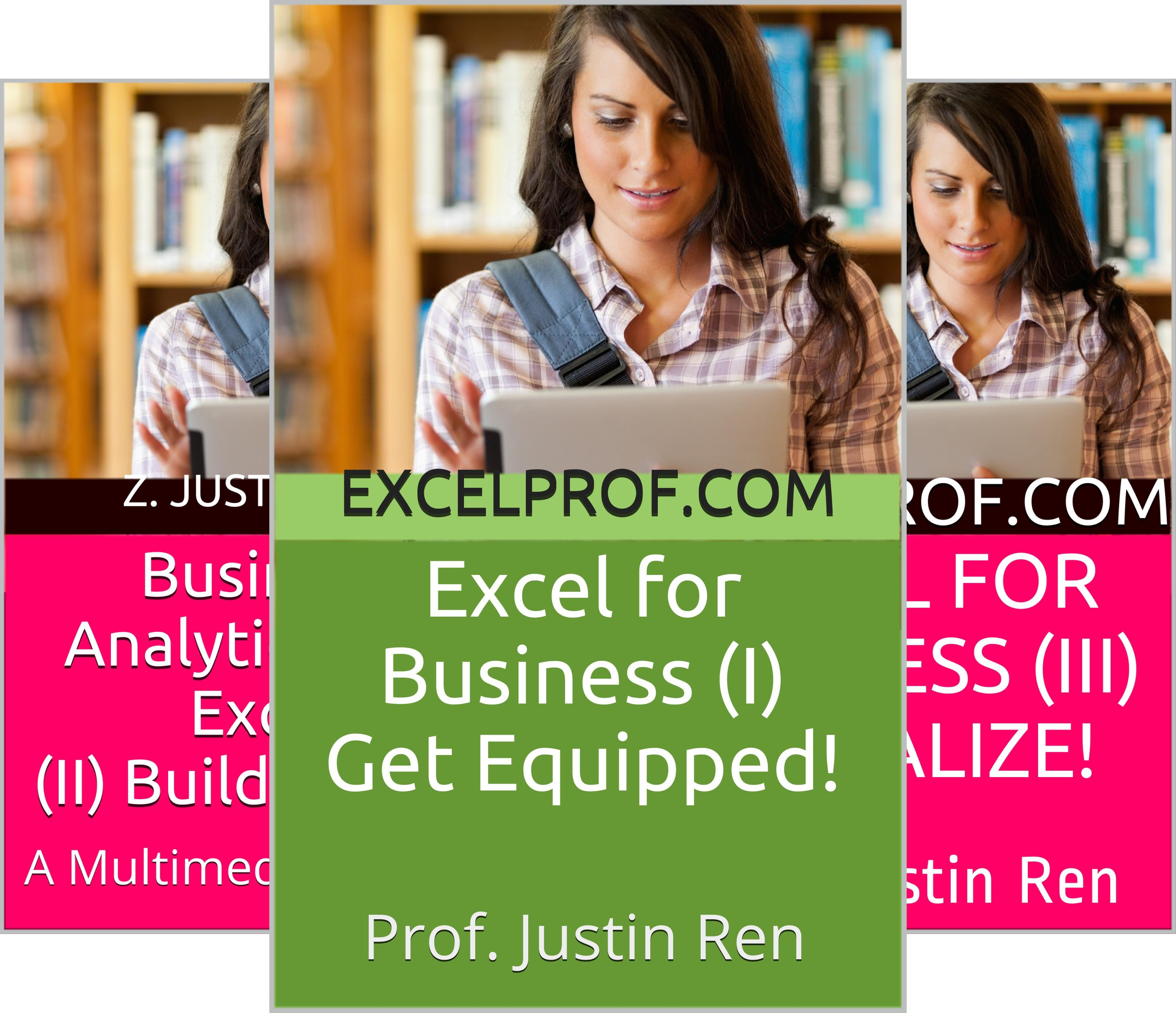 Series: A Multimedia Introduction to Business Analytics with Excel (7 Book Series)