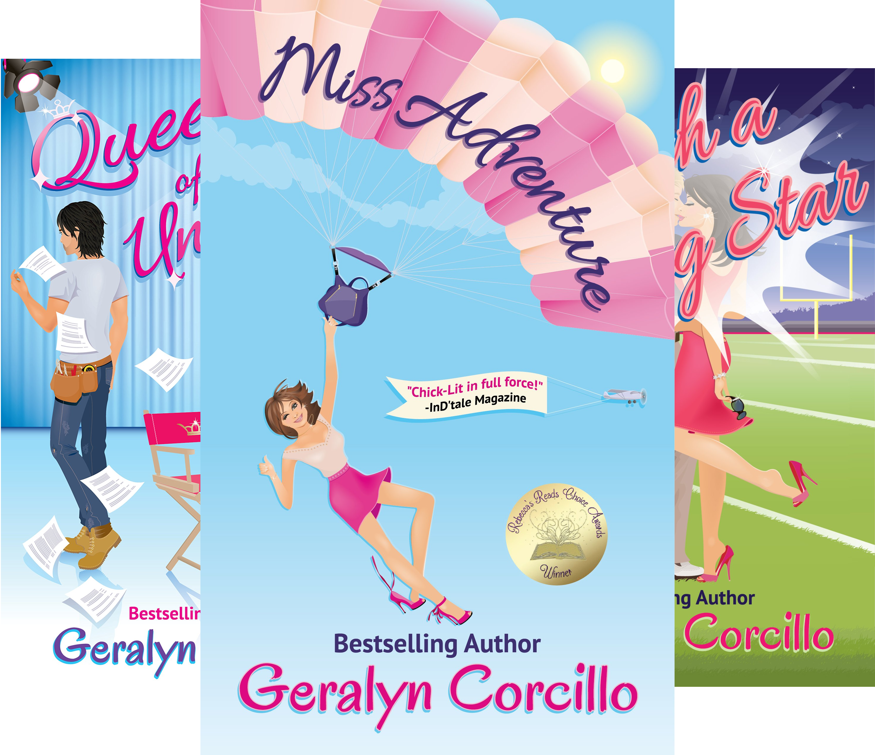 In Love in the Limelight (4 Book Series)