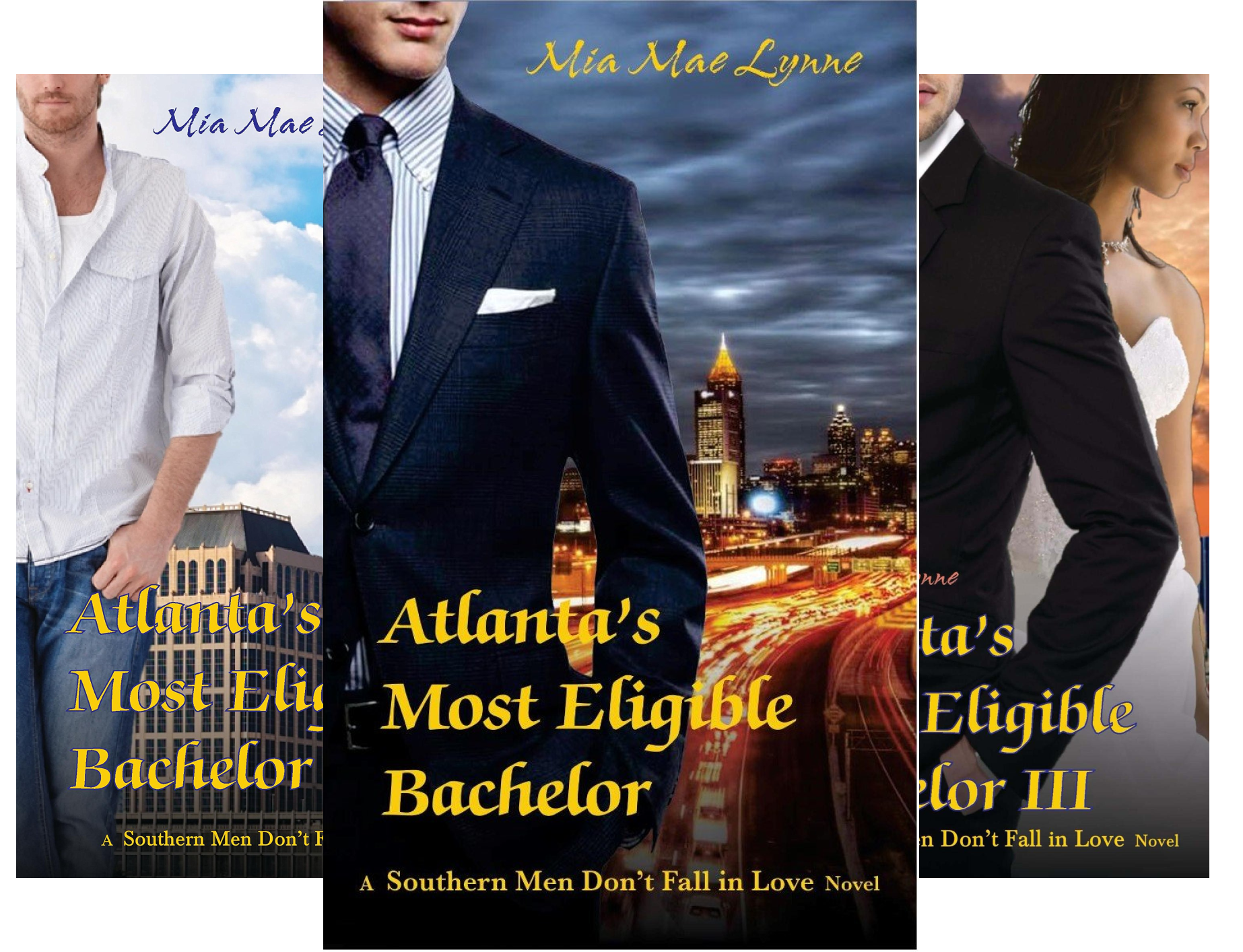 Southern Men Don't Fall In Love (3 Book Series)