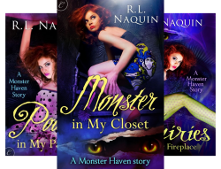 Monster Haven (6 Book Series) by  R.L. Naquin