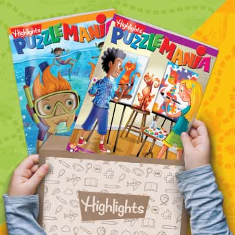 Amazon.com: Highlights Puzzle Club - Kids Puzzle Books Subscription: AGES 7+ BOX: Memberships