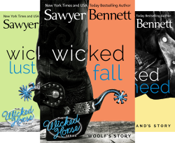 The Wicked Horse Series (4 Book Series) by  Sawyer Bennett