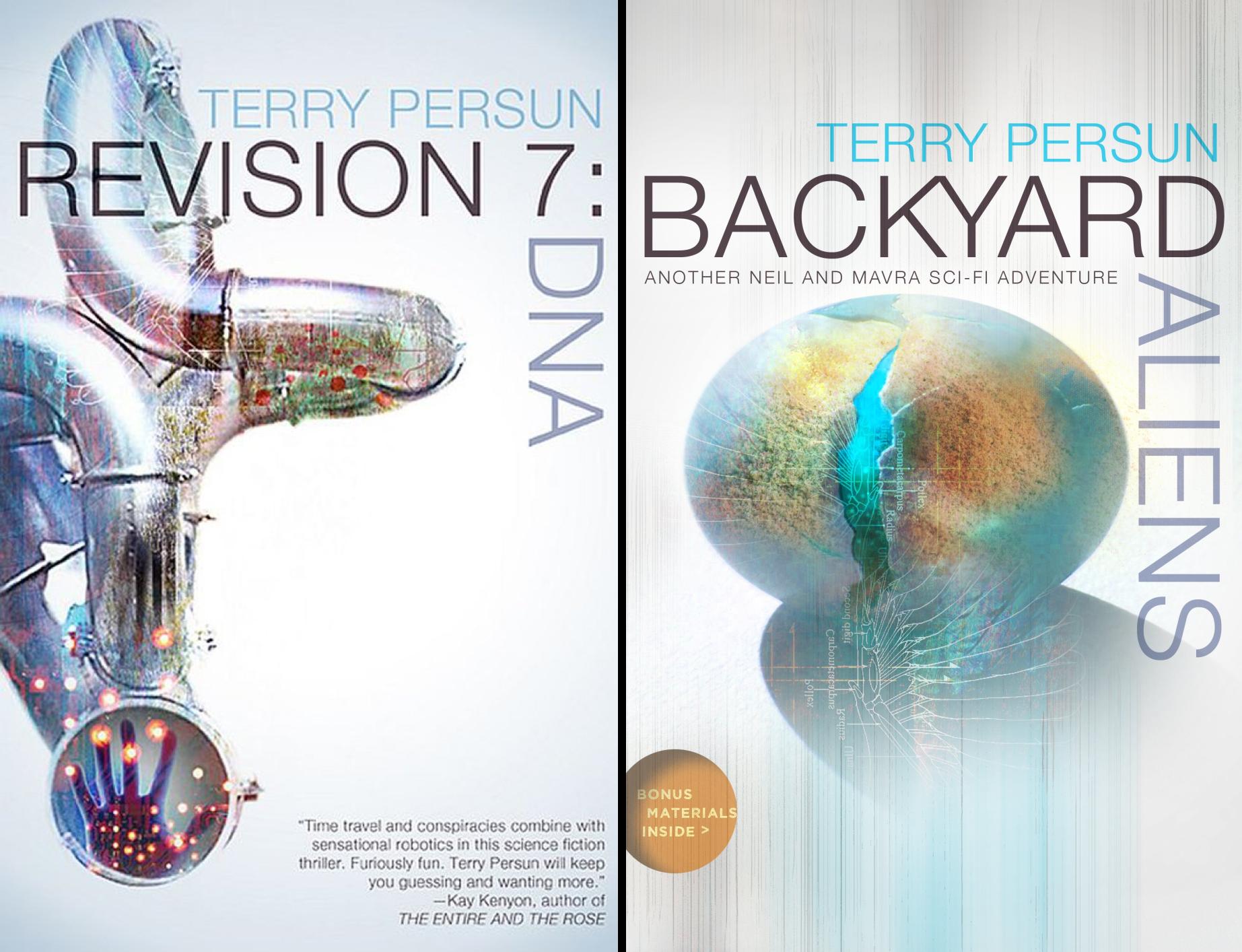 Neil and Mavra Sci-Fi Adventure (2 Book Series)