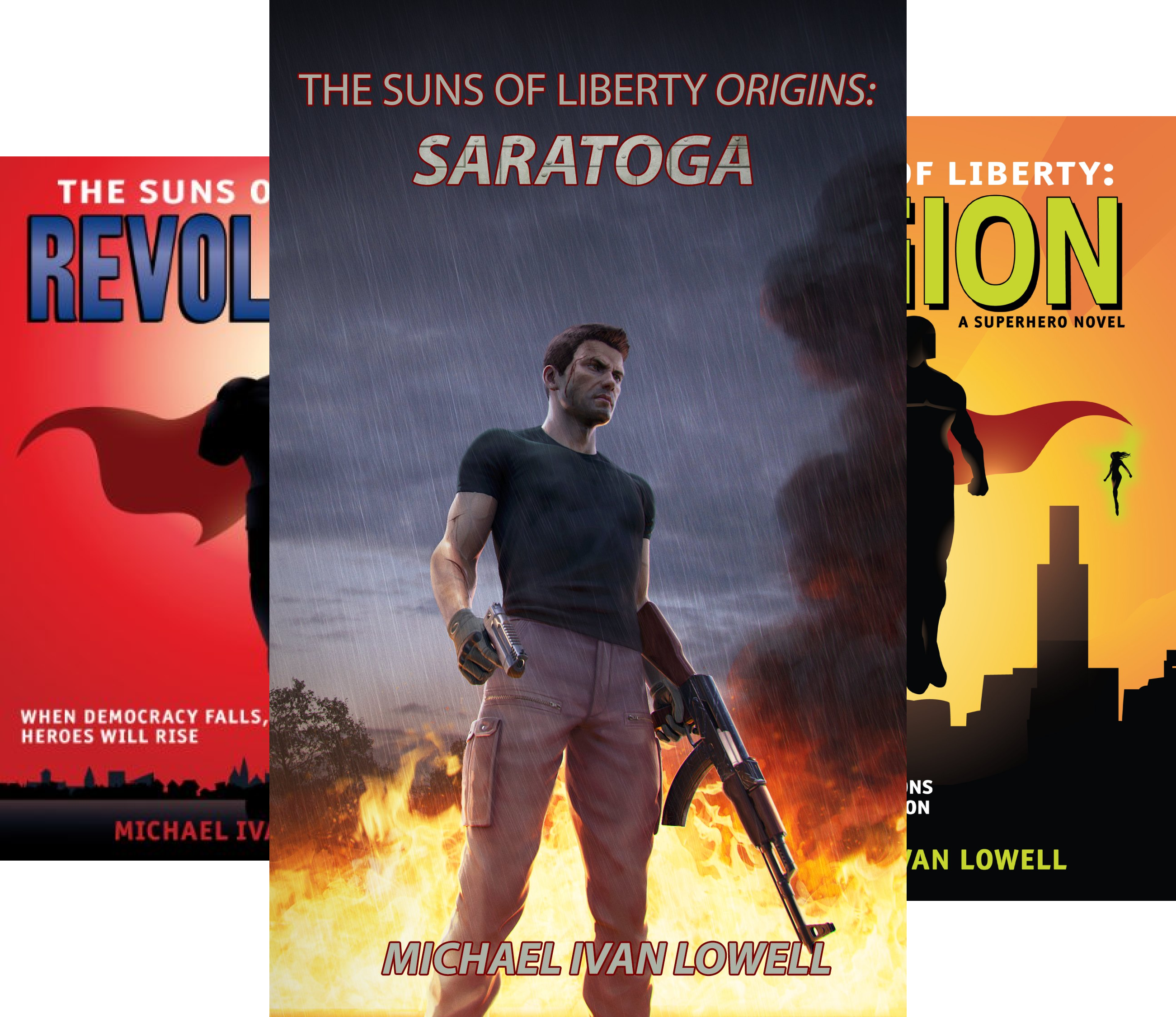 Suns of Liberty (4 Book Series)