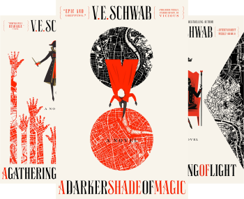 Shades of Magic by V. E. Schwab