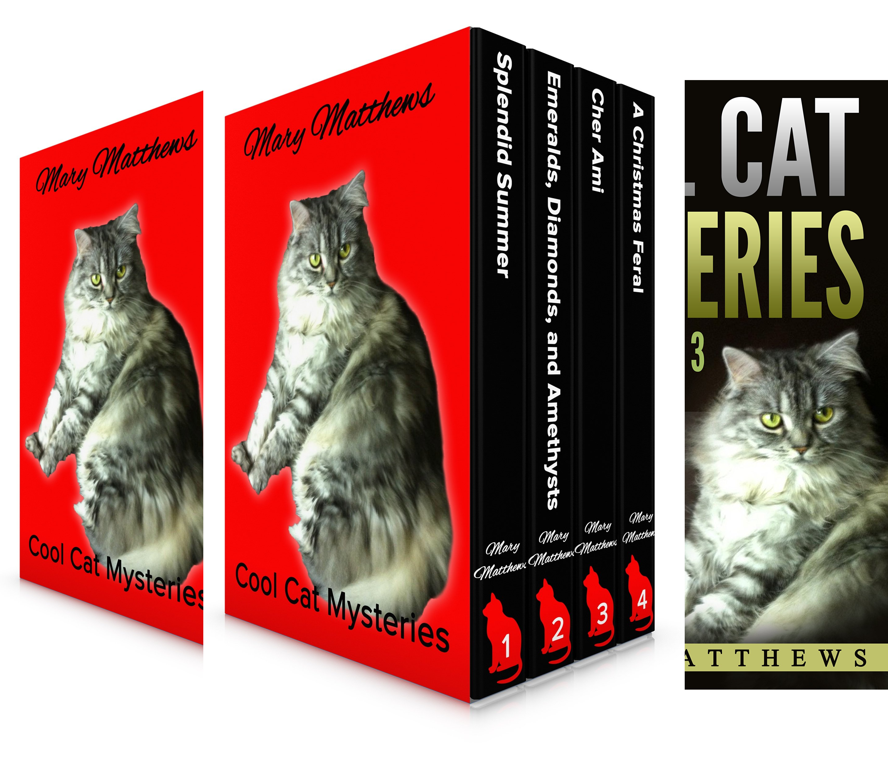 Magical Cool Cats Mysteries (3 Book Series)