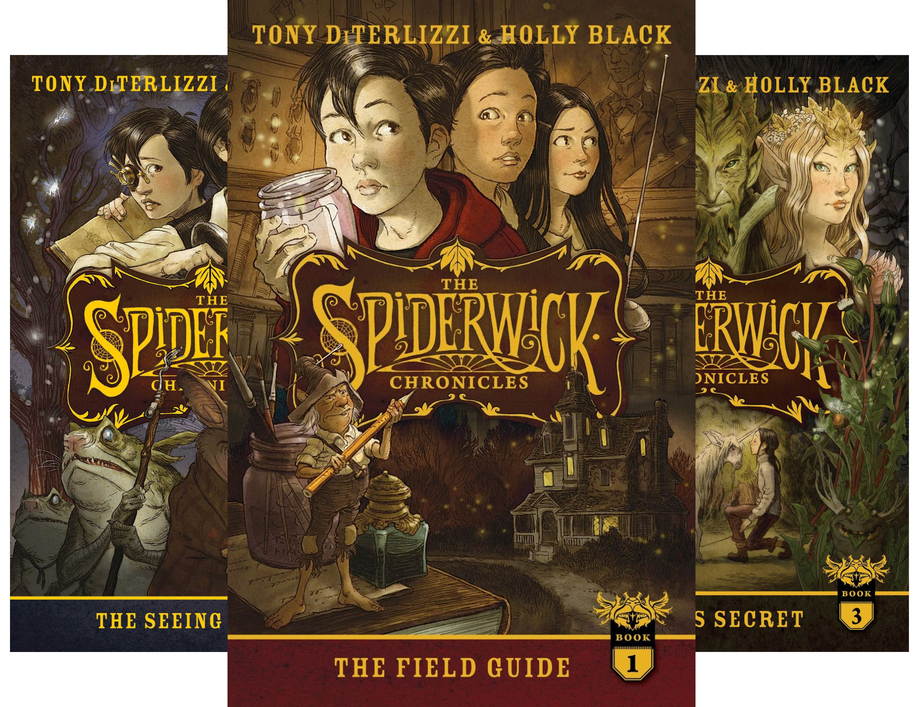 Price comparison product image The Spiderwick Chronicles, the Complete Series: The Field Guide; The Seeing Stone; Lucinda's Secret; The Ironwood Tree; The Wrath of Mulgrath