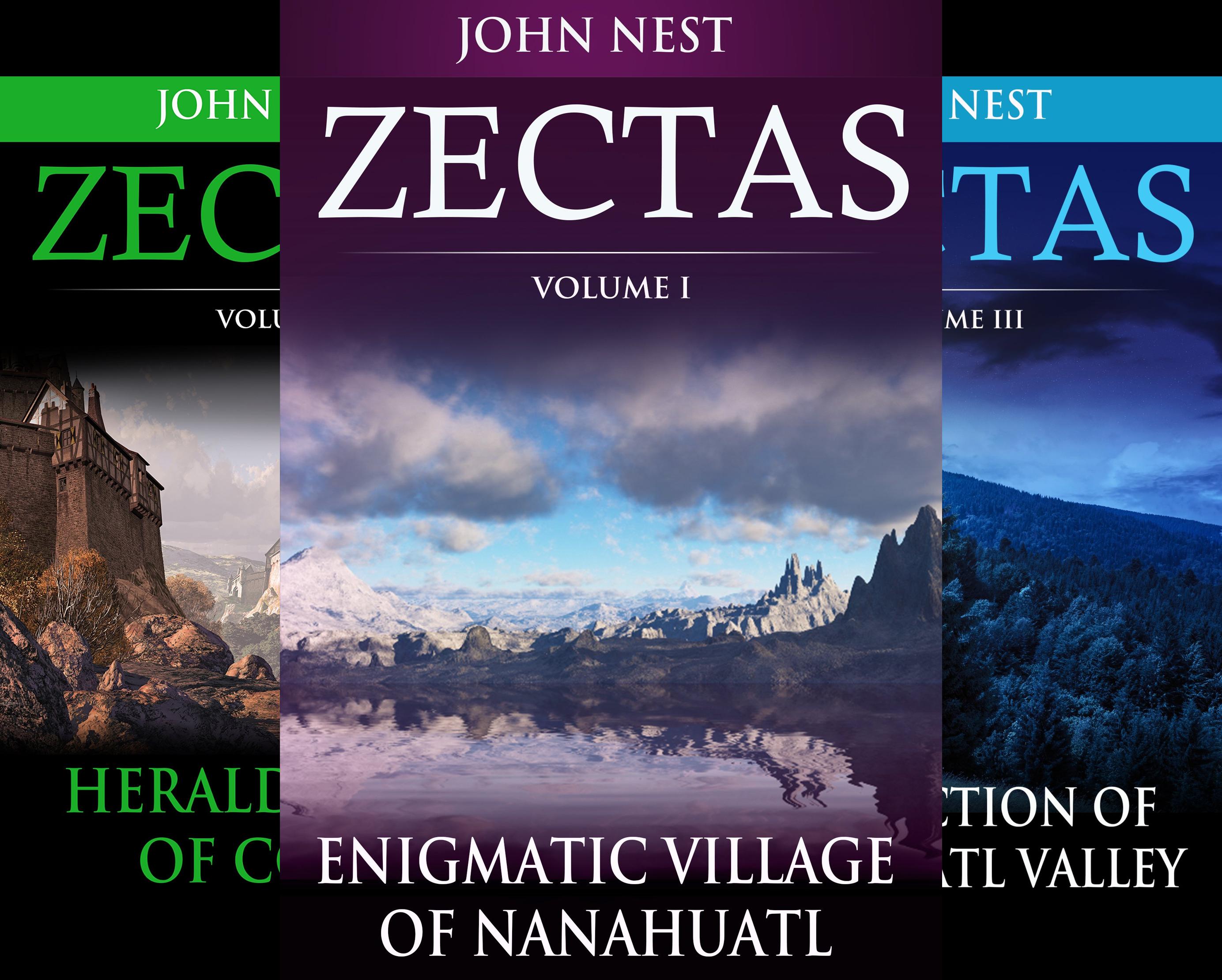 Zectas (6 Book Series)