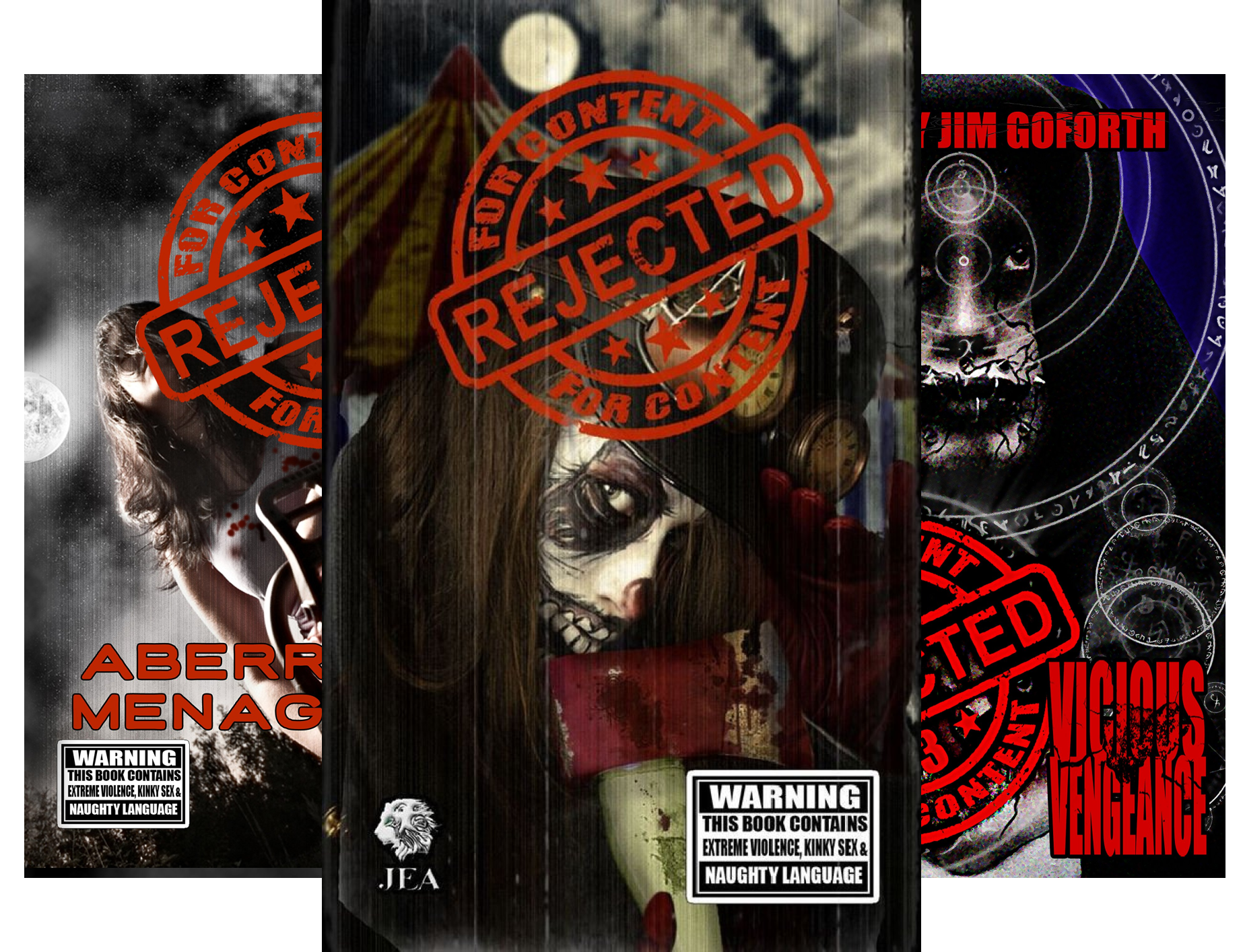 Rejected For Content (6 Book Series)