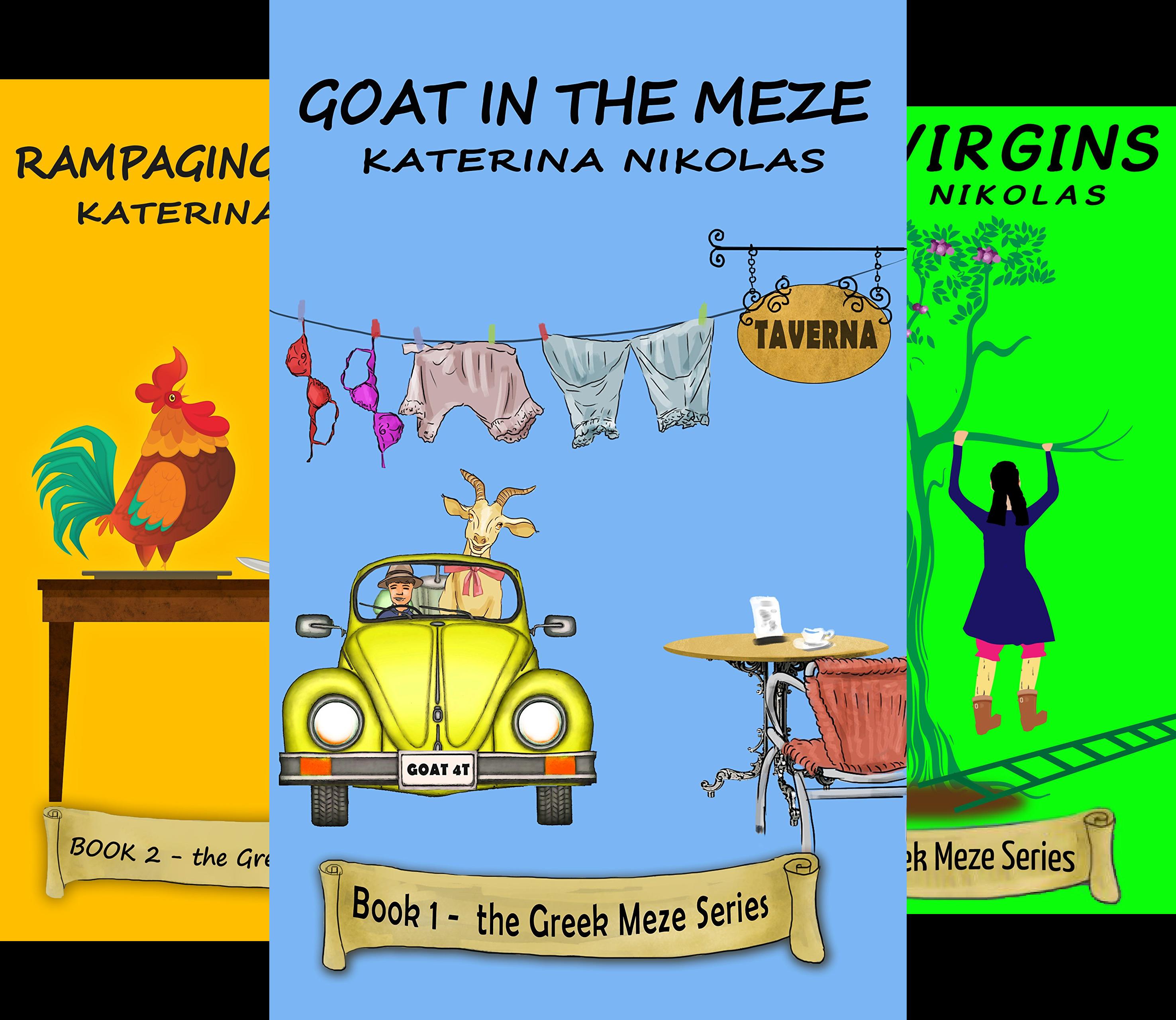 The Greek Meze Series (3 Book Series)