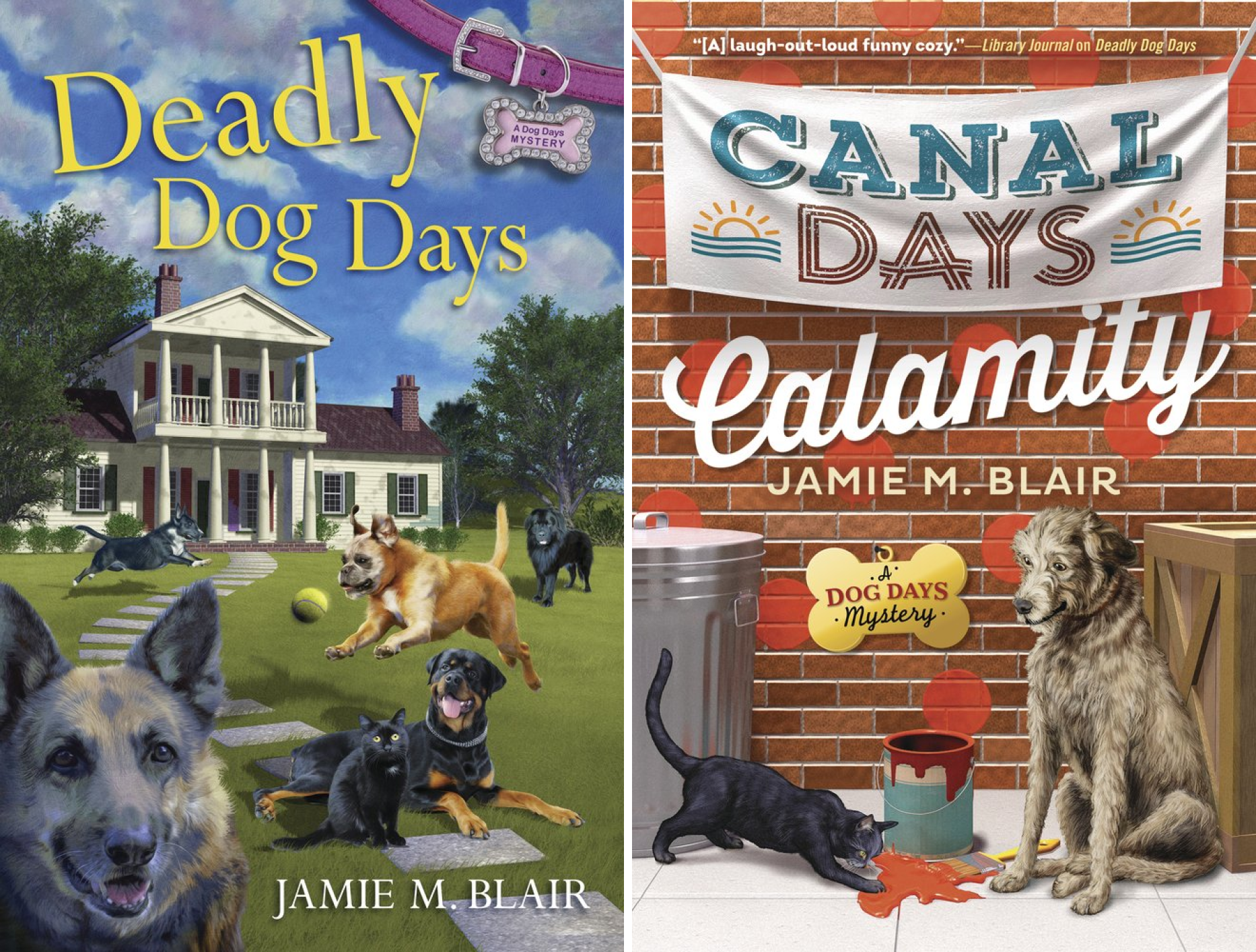 A Dog Days Mystery (2 Book Series)
