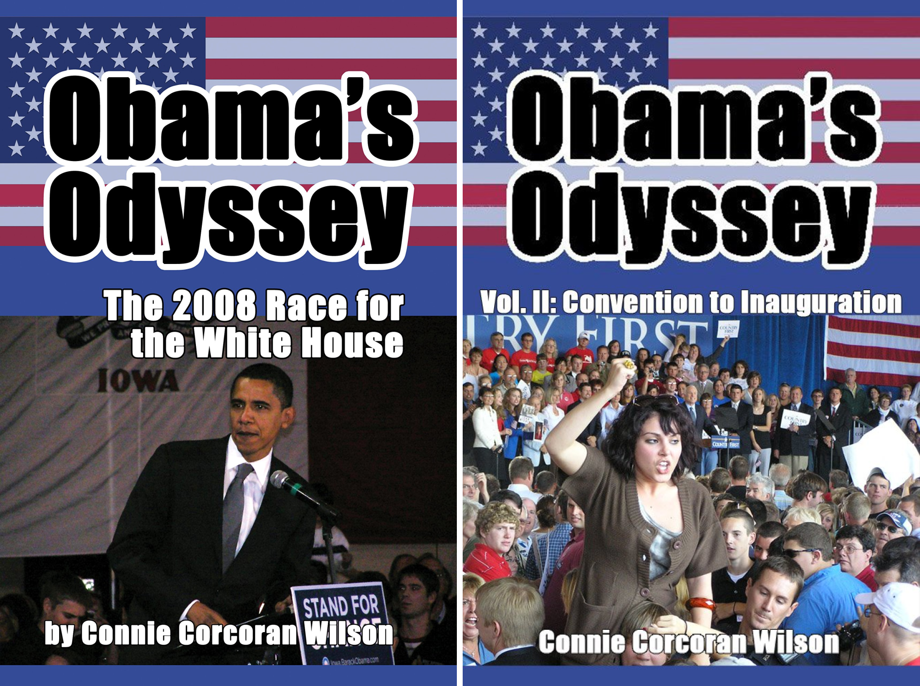 Obama's Odyssey (2 Book Series)