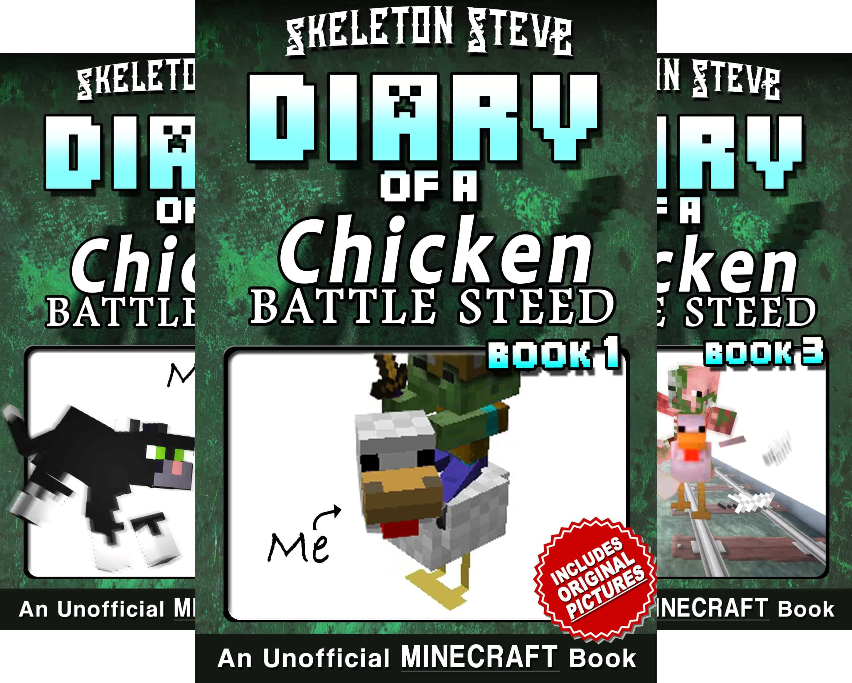Skeleton Steve The Noob Mobs Minecraft Diaries Collection