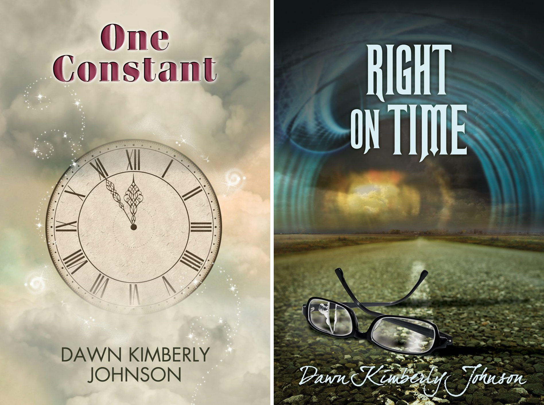 One Constant and Right on Time (2 Book Series)