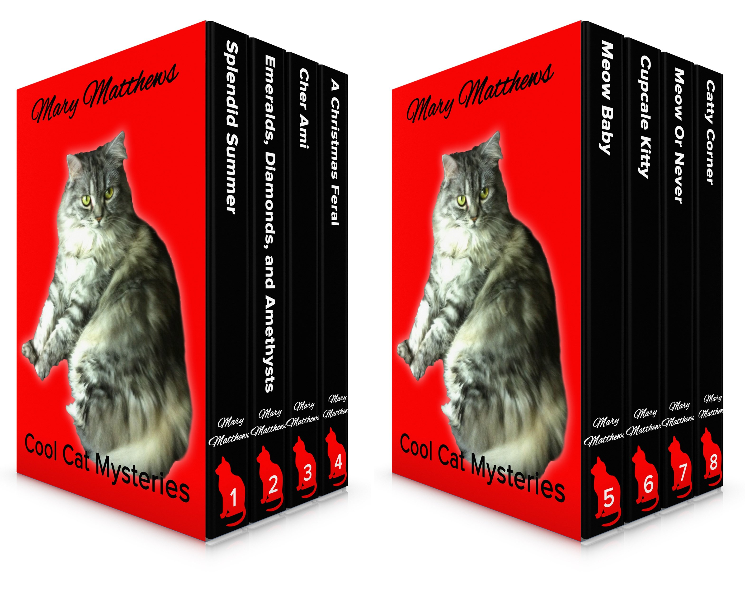 Magical Cool Cats Mysteries (2 Book Series)