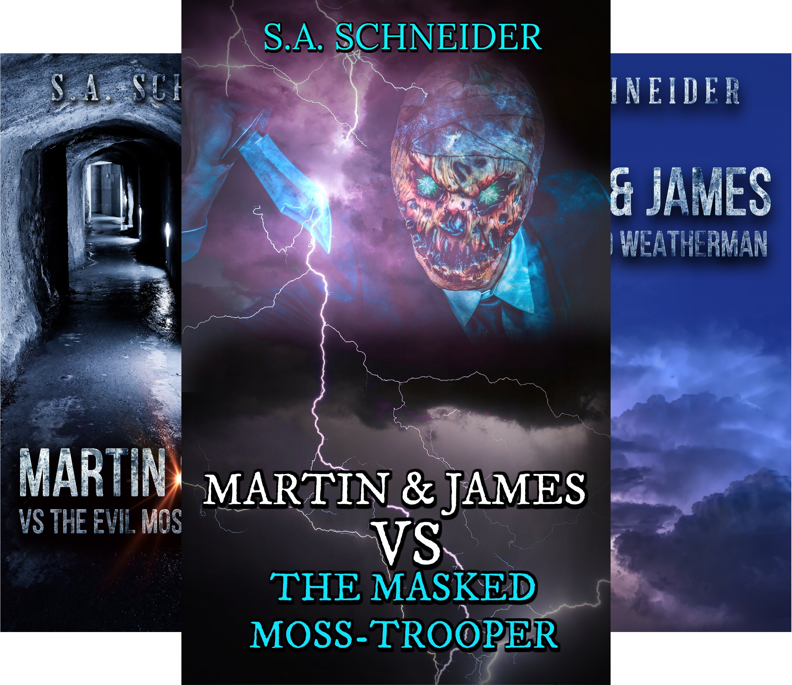 Martin & James Case Files (4 Book Series)