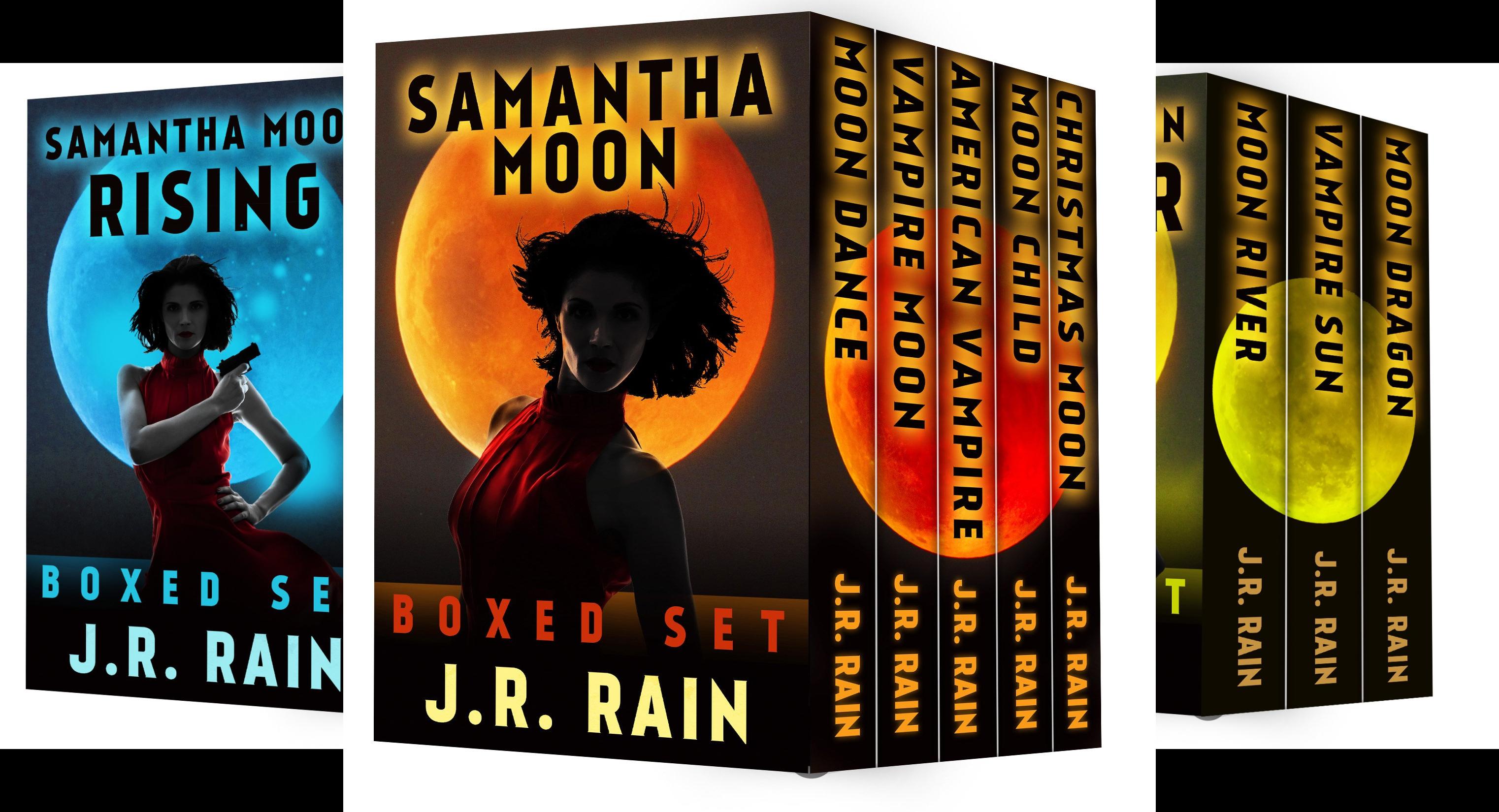 The Samantha Moon Series (4 Book Series)