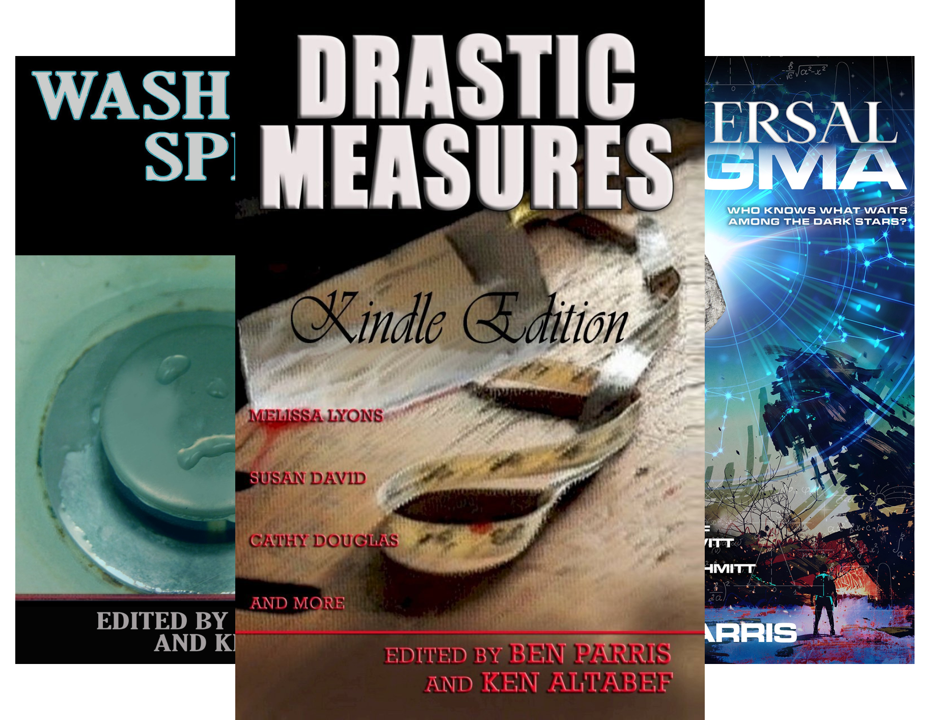 Drastic Measures Anthology (3 Book Series)