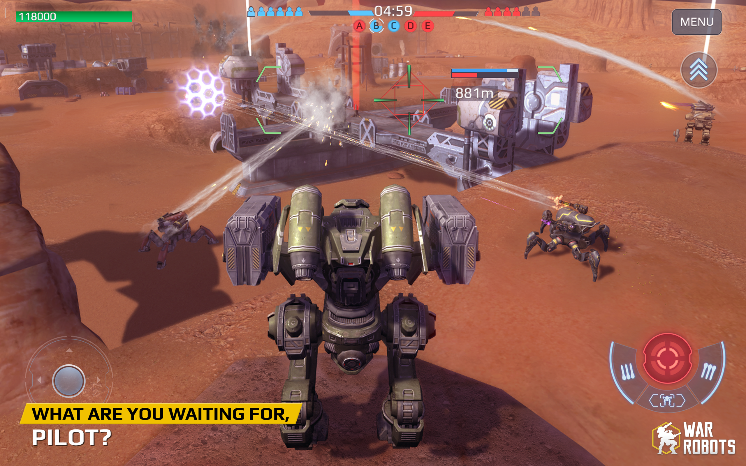 Amazoncom War Robots Appstore For Android