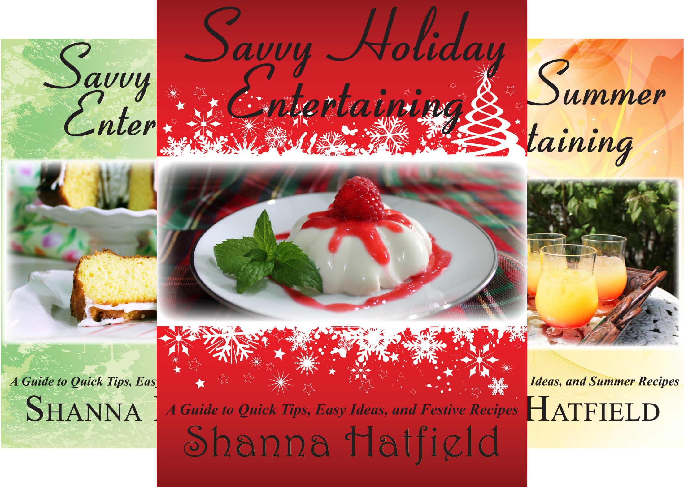 Savvy Entertaining (4 Book Series)