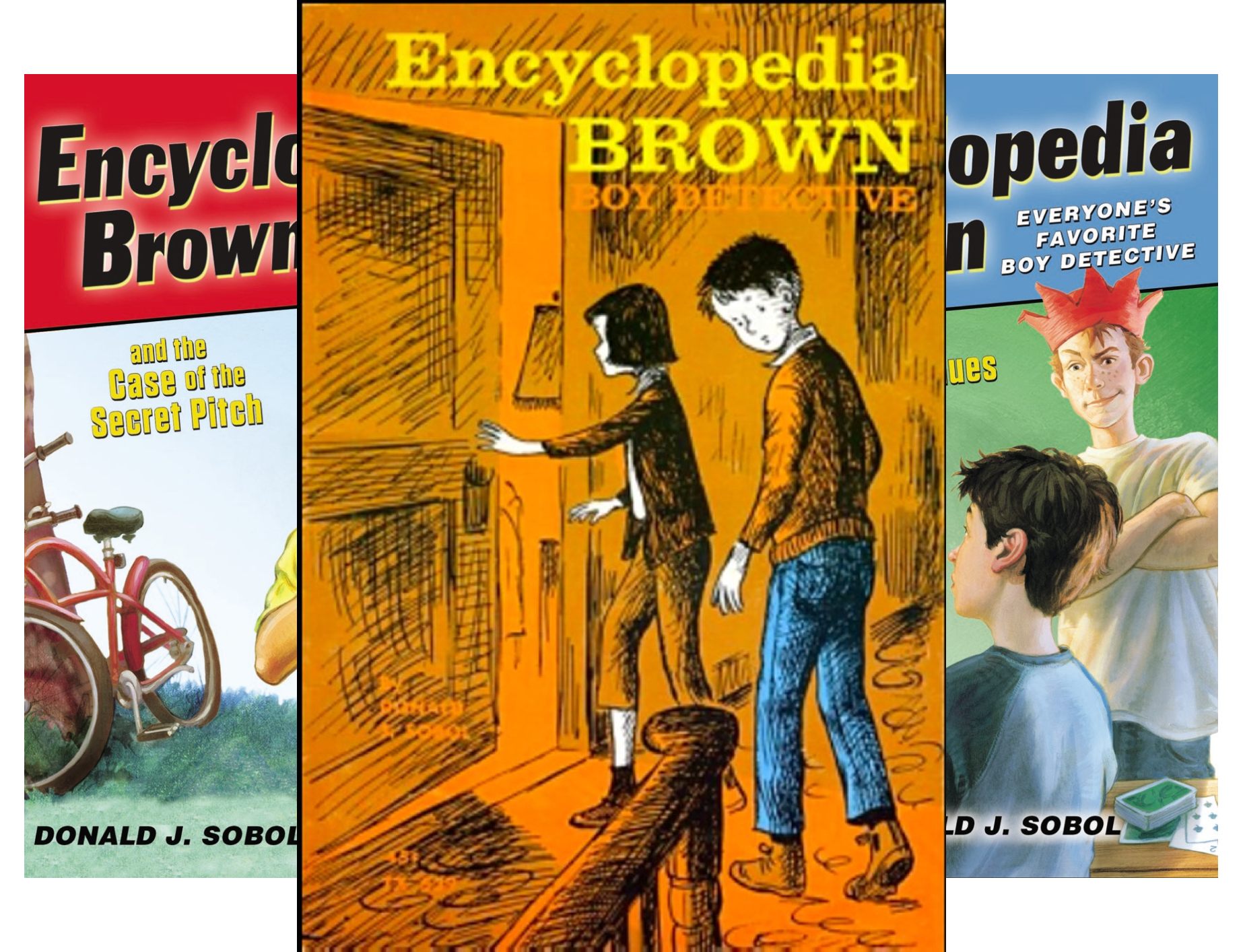 Encyclopedia Brown: First Four Books