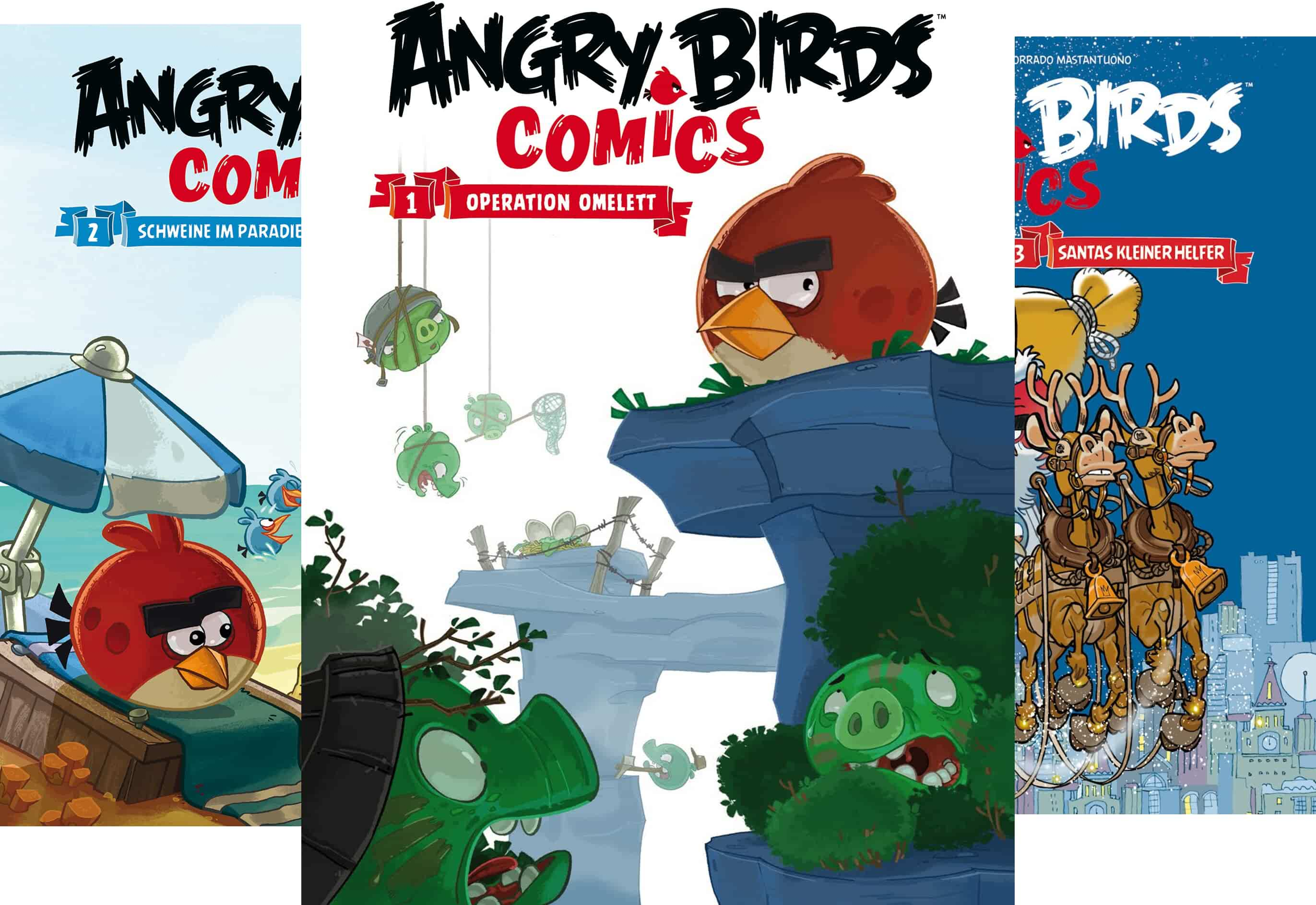 Angry Birds Reihe In 6 Banden