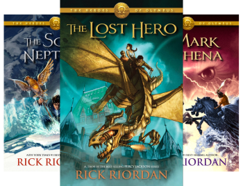 Heroes of Olympus (5 Book Series) Kindle Edition by Rick Riordan