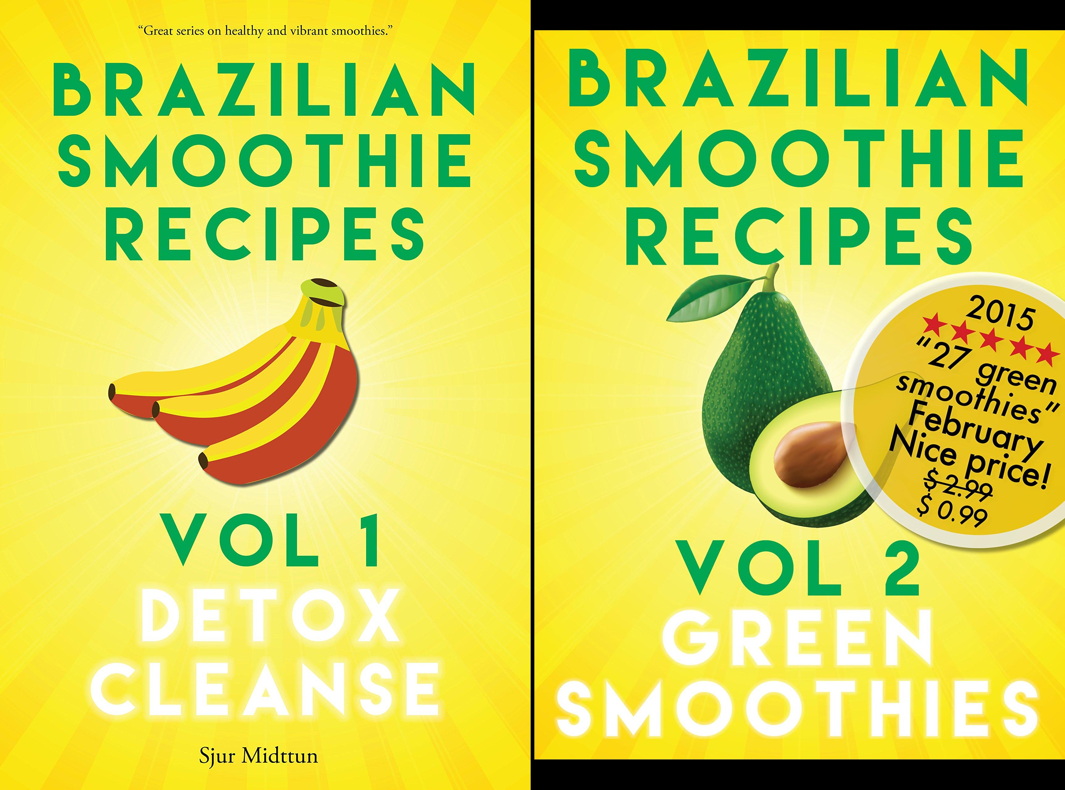Brazilian Smoothie Recipes (2 Book Series)